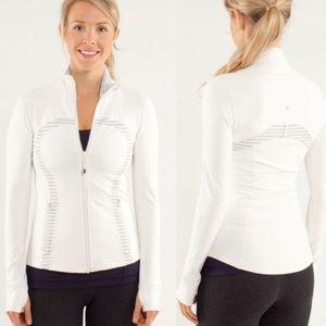 Lululemon Define Jacket Brushed Polar Cream 12